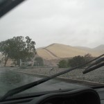 From Rain Storm to Dust Storm... Really